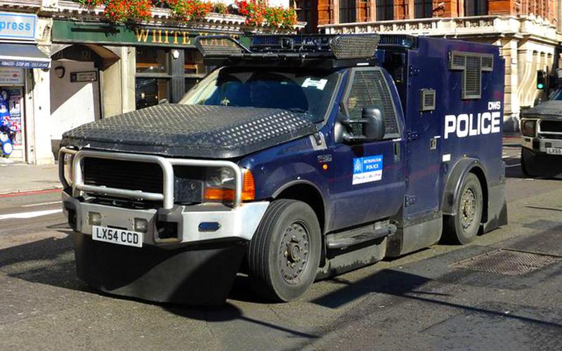 Бронеавтомобили: на чем теперь ездит полиция 1