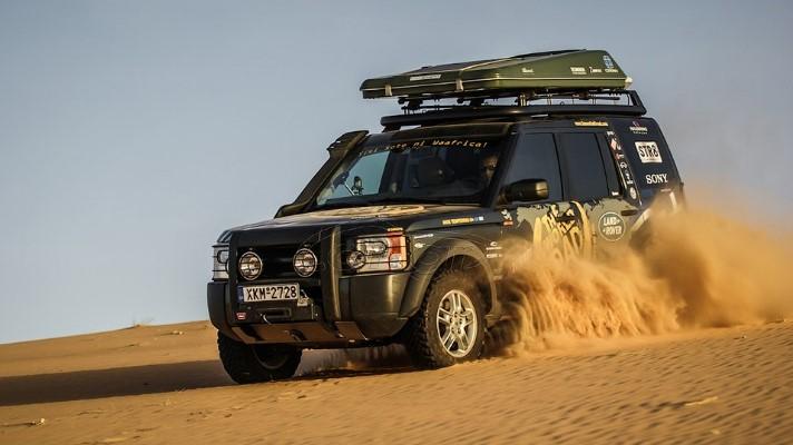 На аукцион выставили Land Rover, объехавший вокруг света 1
