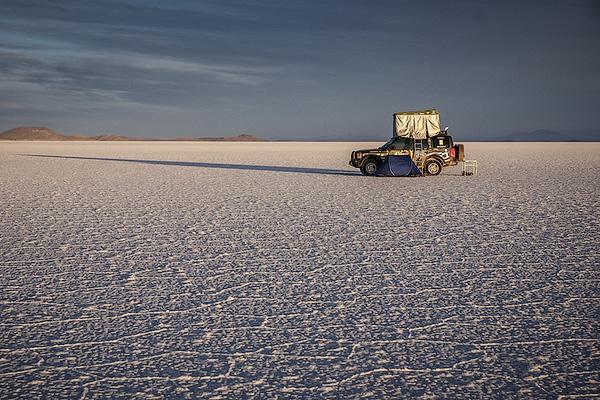 Объехавший вокруг света Land Rover выставили на продажу 4