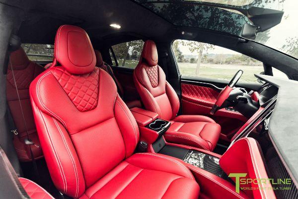 На продажу выставили Tesla Model X с «салоном Bentley» 2