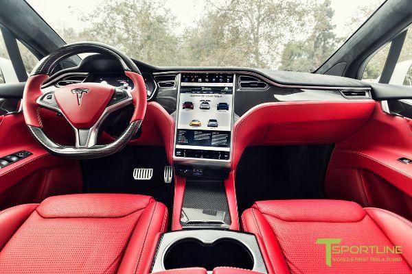 На продажу выставили Tesla Model X с «салоном Bentley» 3
