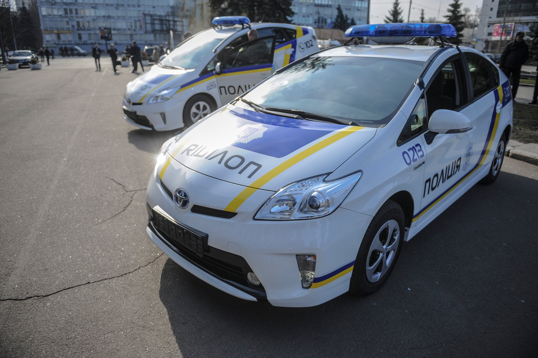 Сопровождение полиции можно заказать за 9 гривен / километр 1