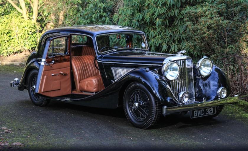 Бывшие владельцы купили на аукционе собственный Jaguar Mark IV 1