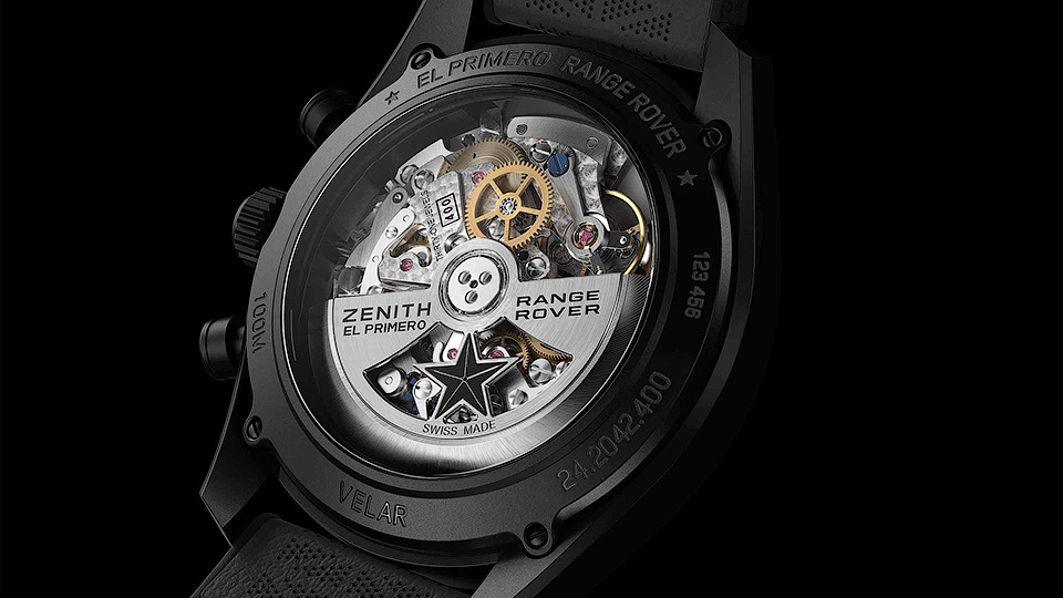 Фирма Zenith сделала часы для владельцев Range Rover Velar 1