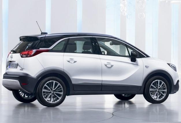 Opel назвал цену нового кроссовера Crossland X 3