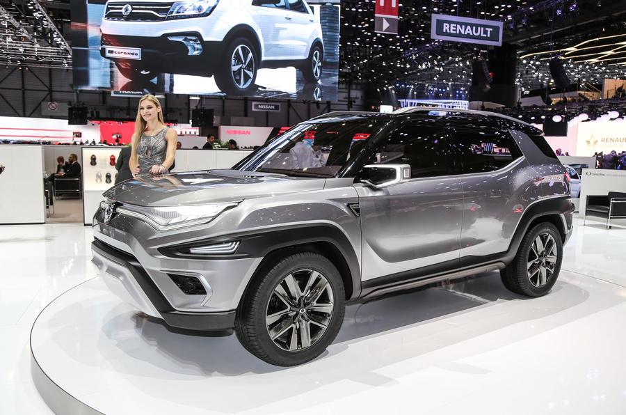 SsangYong показал «захватывающий настоящий автомобиль» 2