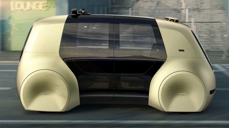 Volkswagen Sedric: без руля и педалей 2