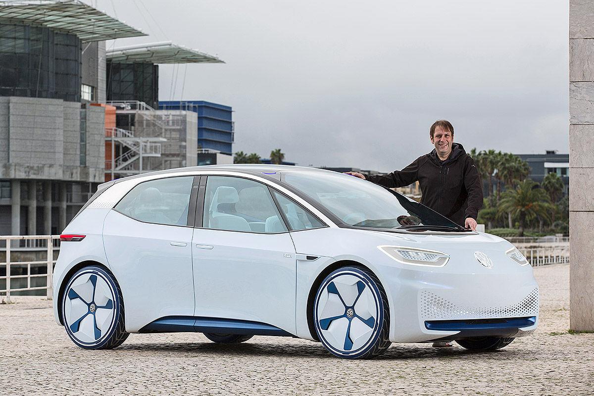 «Энергичный электрик»: тест-драйв электромобиля VW I.D 1