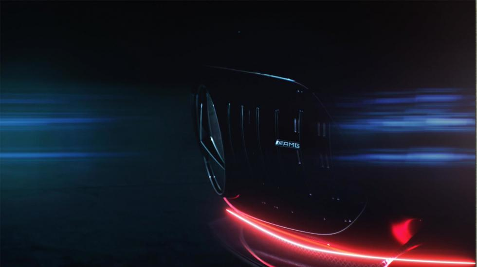 Последний тизер Mercedes-AMG GT перед автошоу 1