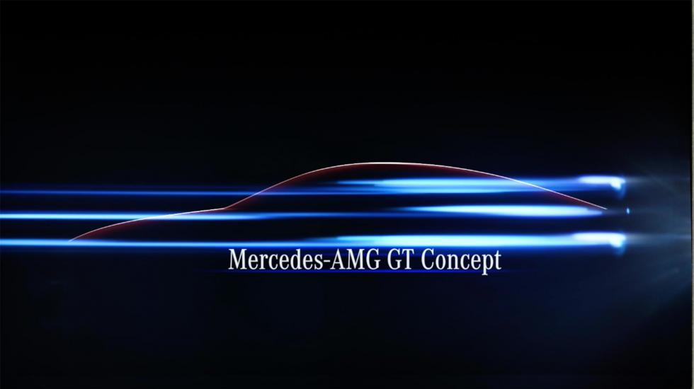 Последний тизер Mercedes-AMG GT перед автошоу 2