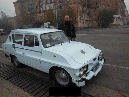 Украинец построил «самый странный» автомобиль 1