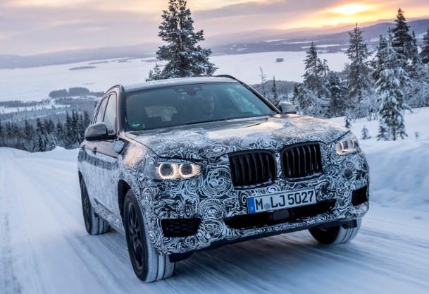 Испытание холодом: BMW показал новый X3 на зимних тестах в Швеции 2