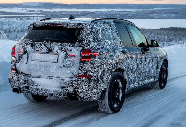 Испытание холодом: BMW показал новый X3 на зимних тестах в Швеции 1
