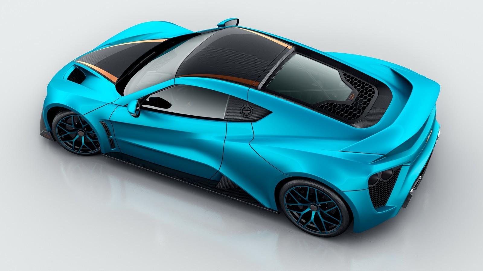 Zenvo представит 1163-сильный суперкар в Женеве 3