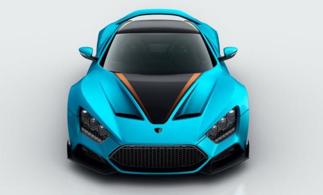 Zenvo представит 1163-сильный суперкар в Женеве 1