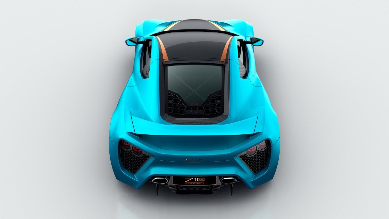 Zenvo представит 1163-сильный суперкар в Женеве 4