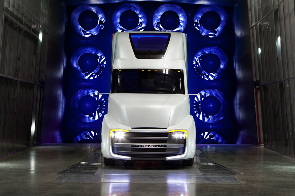 Самые «дикие» концептуальные грузовые автомобили 9