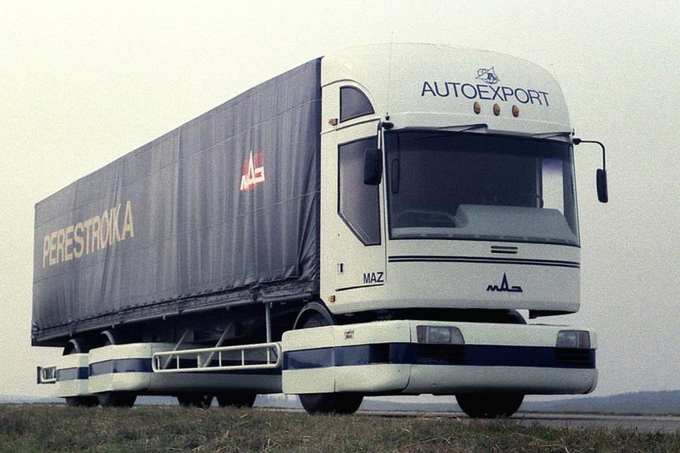 Самые «дикие» концептуальные грузовые автомобили 4