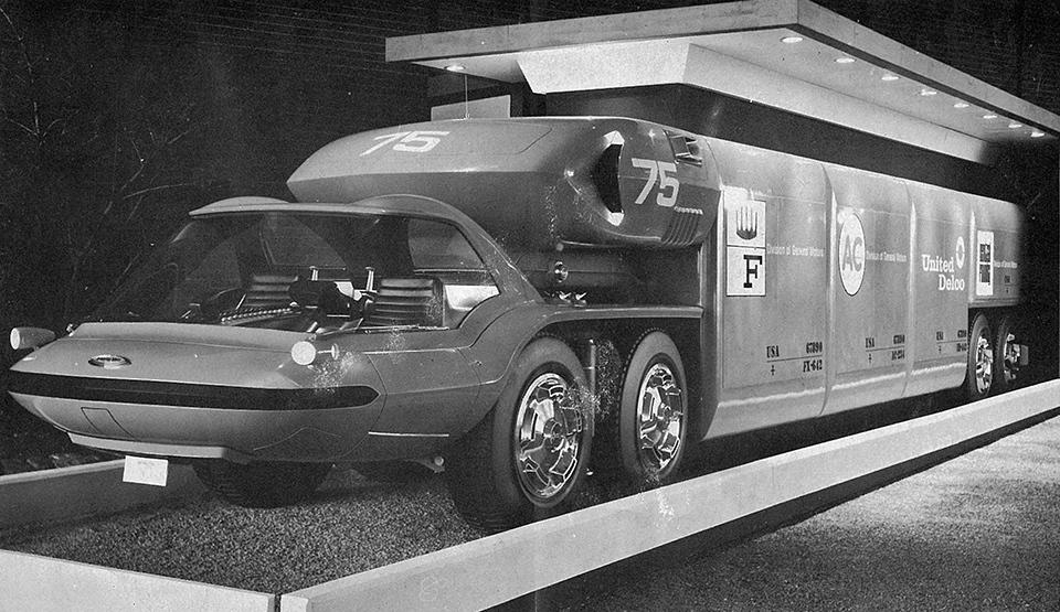 Самые «дикие» концептуальные грузовые автомобили 5