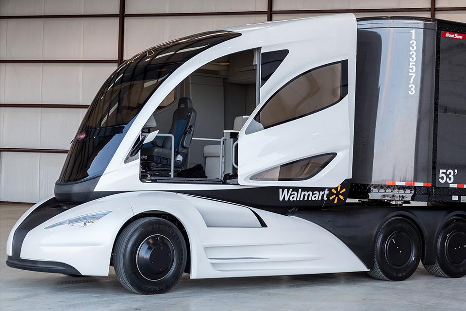 Самые «дикие» концептуальные грузовые автомобили 8