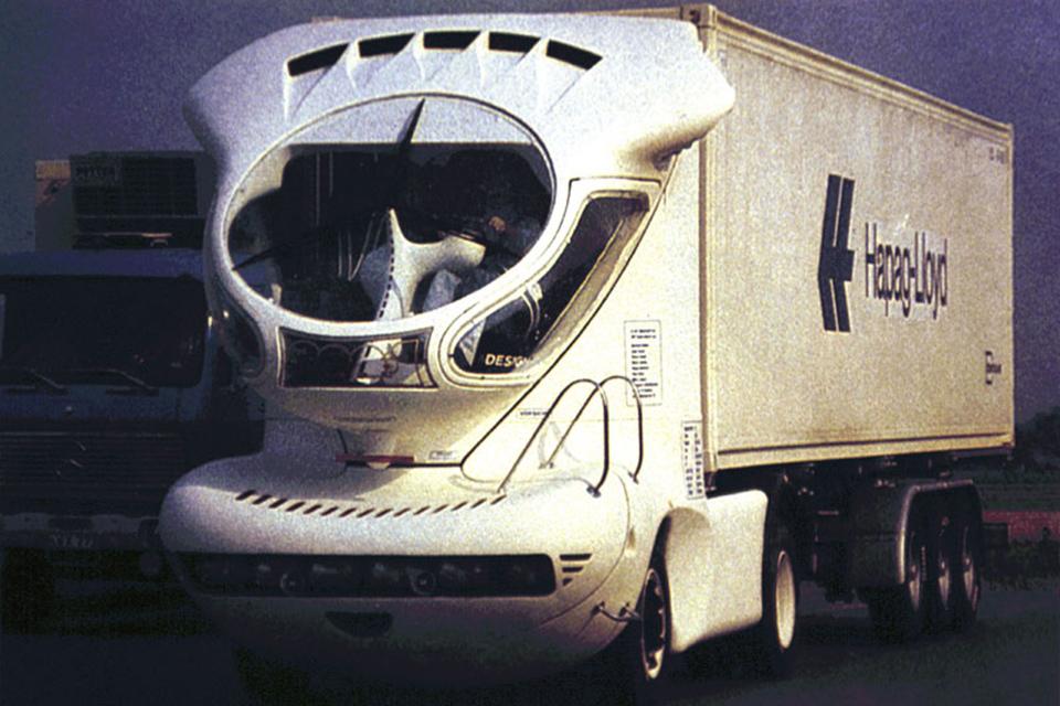 Самые «дикие» концептуальные грузовые автомобили 1
