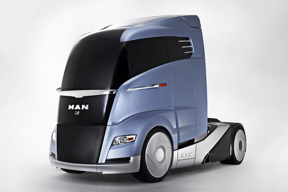 Самые «дикие» концептуальные грузовые автомобили 7