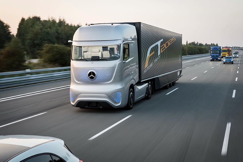 Самые «дикие» концептуальные грузовые автомобили 10