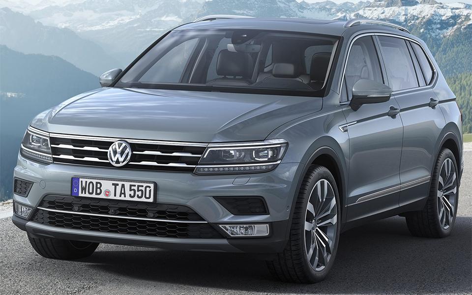 Семиместный Volkswagen Tiguan добрался до европейцев 1
