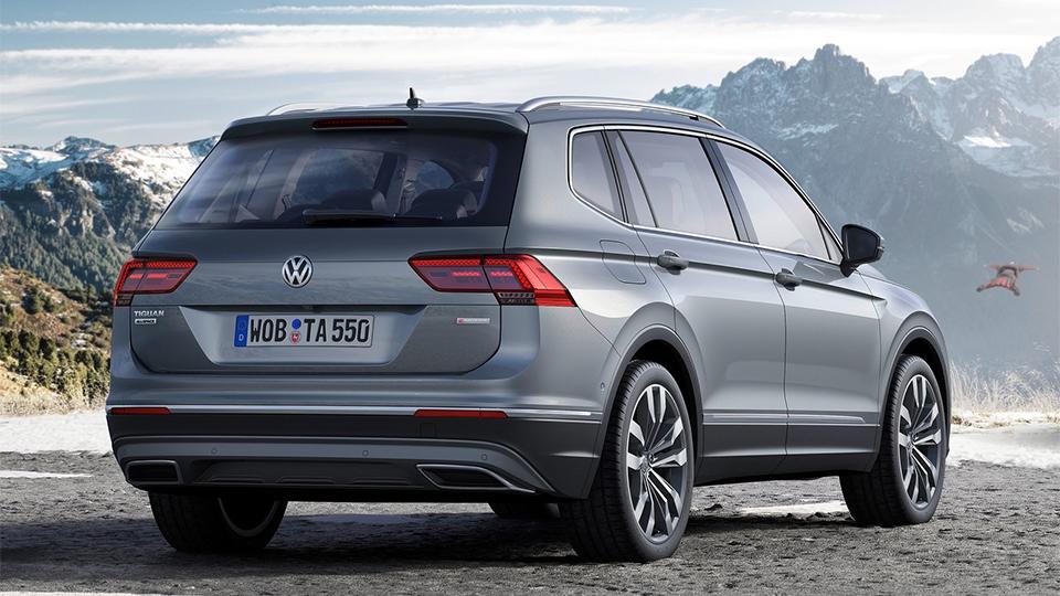 Семиместный Volkswagen Tiguan добрался до европейцев 2