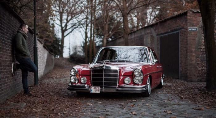 Ретро Mercedes-Benz 280S «попал в правильные руки» 1