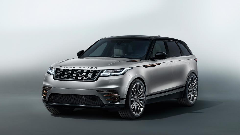 Новый Range Rover Velar «во всей красе» 1