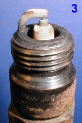 Как определить состояние двигателя по свече зажигания 3