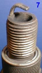 Как определить состояние двигателя по свече зажигания 7