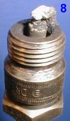 Как определить состояние двигателя по свече зажигания 8
