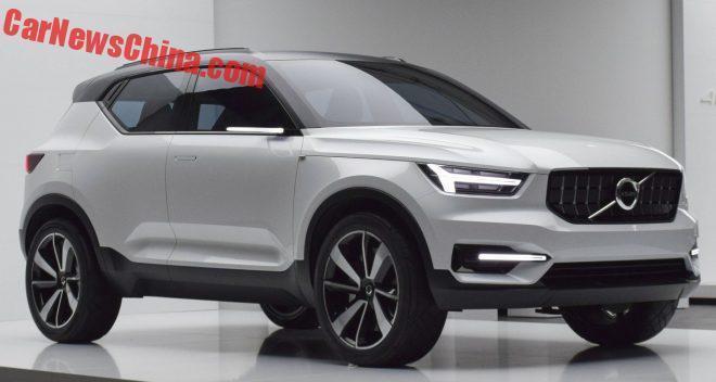 Volvo поделилась подробностями о новом XC40 1