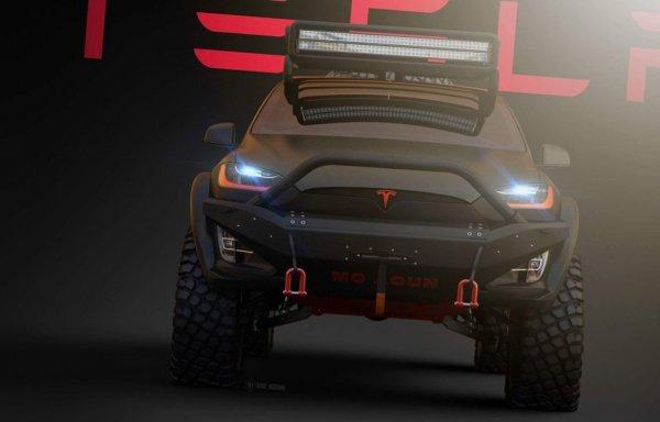 Tesla Model X «превратился в брутальный внедорожник»? 2
