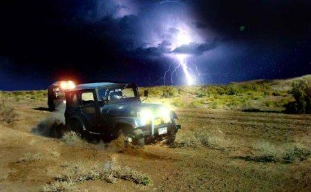 Может ли «грозовая молния» навредить автомобилю и пассажирам? 1