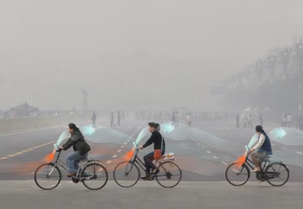 Китайцы покажут велосипед, фильтрующий воздух в процессе езды 1