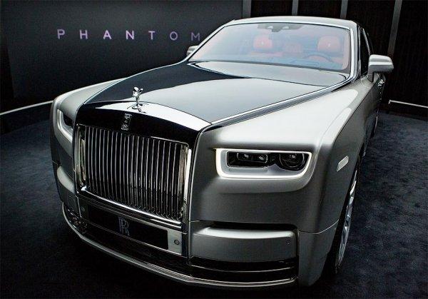 Марка Rolls-Royce презентовала новый роскошный Phantom 1