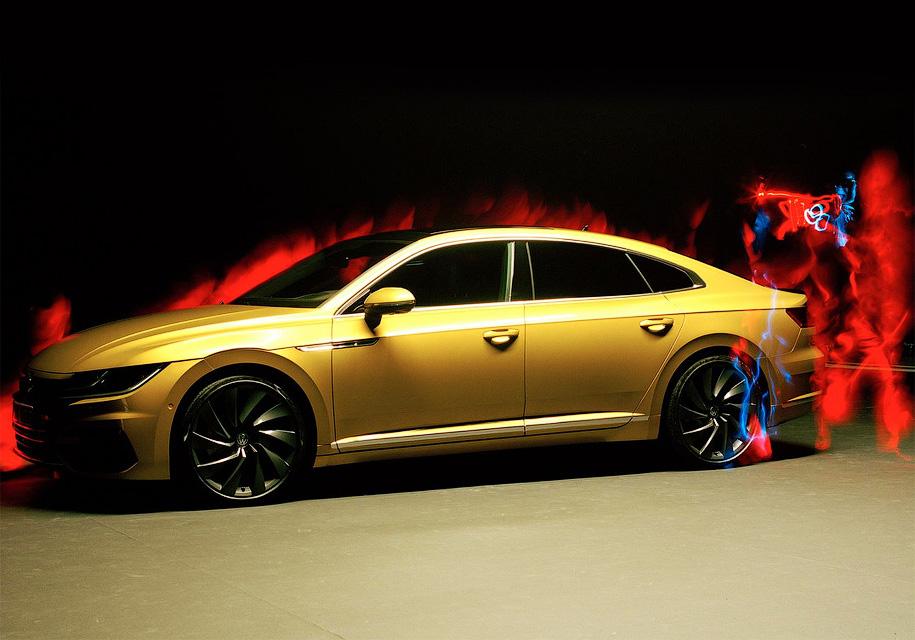 В VW доверили съемку Arteon слепому фотографу 3