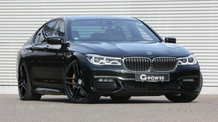Тюнеры «прокачали» дизельный седан BMW 750d 1