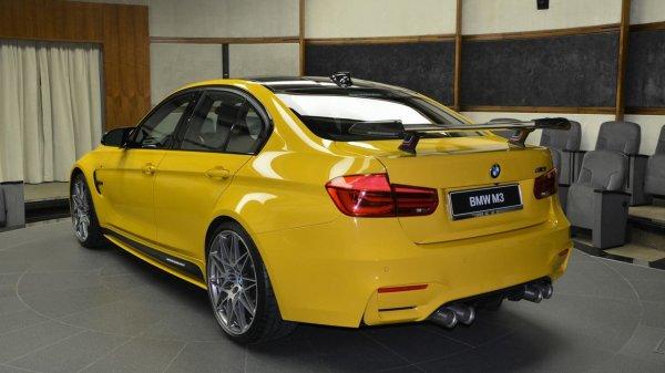 Уникальный желтый BMW M3 для клиентов из ОАЭ «стал хитом в Сети» 2