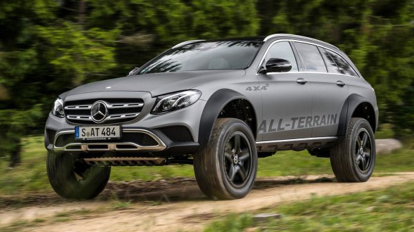 «Брутального зверя» Mercedes E-Class All-Terrain хотят пустить в серию 2