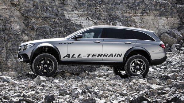 «Брутального зверя» Mercedes E-Class All-Terrain хотят пустить в серию 1