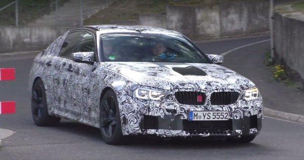 Обновлённый BMW M5 засекли на тестах 1