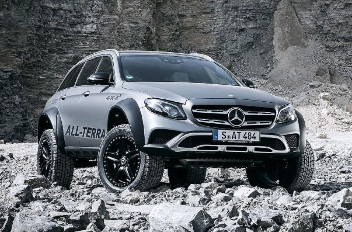 «Брутального зверя» Mercedes E-Class All-Terrain хотят пустить в серию 3