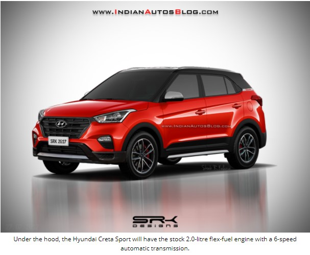 Рендер Hyundai Creta Sport «просочился в Интернет» 4