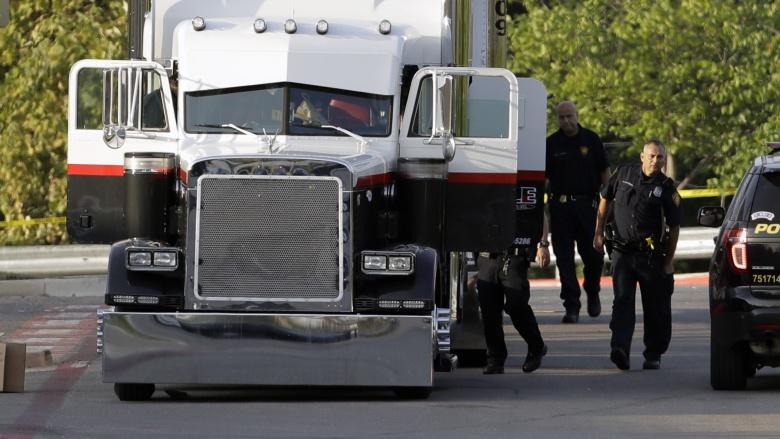Запертому в грузовике мужчине пришлось «спасаться от жары антифризом» 2
