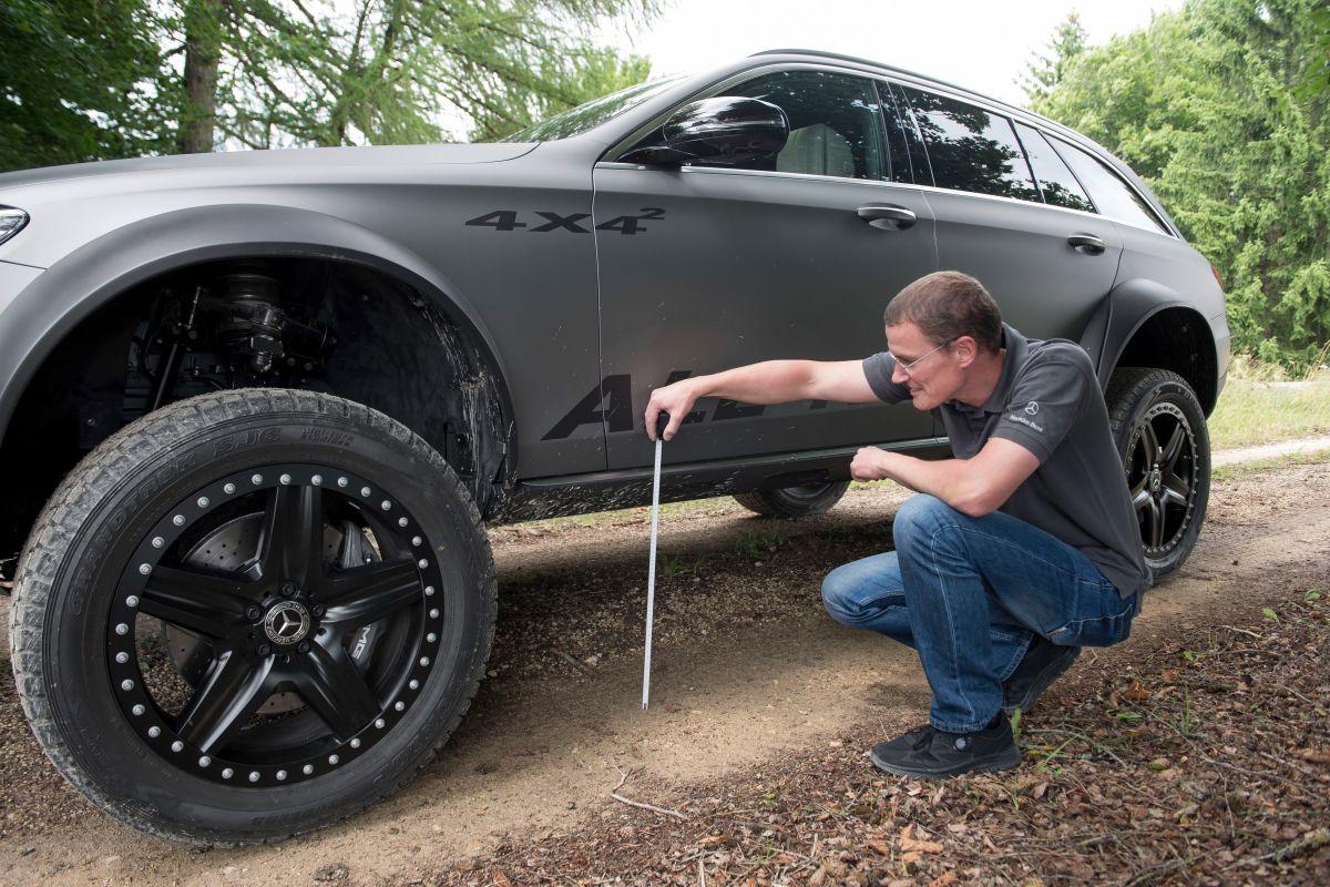 «Зверский универсал для езды по бездорожью»: тест-драйв Mercedes E-Class All-Terrain 4x4 1