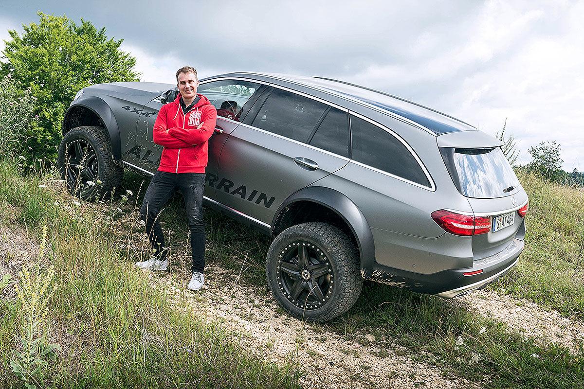 «Зверский универсал для езды по бездорожью»: тест-драйв Mercedes E-Class All-Terrain 4x4 4
